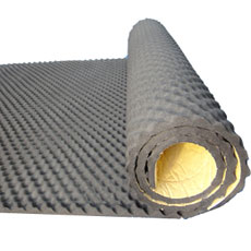 RUBBER INSULATION - Soundproofed EGGS